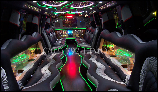 Interior of 30 pass Hummer Daddy