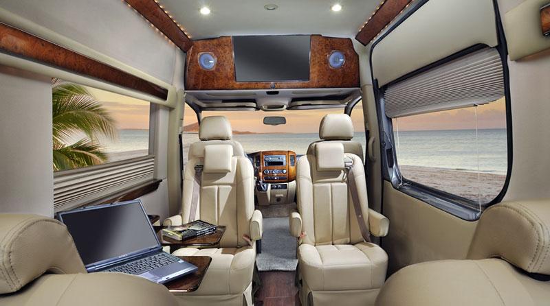 Corporate Van